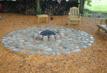 Simons Landscaping | Fire Pits and Fire Places