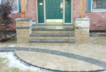 Simons Landscaping | Steps Stairs and Porches
